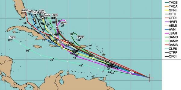 Slight Severe Risk Today (will Tropical Storm Chantal threaten