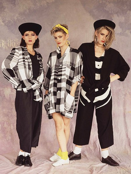 Mode 1980 Frauen Girl Groups - The Famous Outfits Of Group Seduction