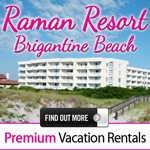 Brigantine Raman Rental Vacation