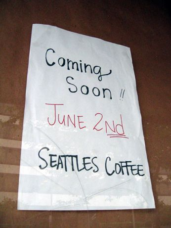 Seattles Coffee owner Anthony says hopefully itll open by July 10