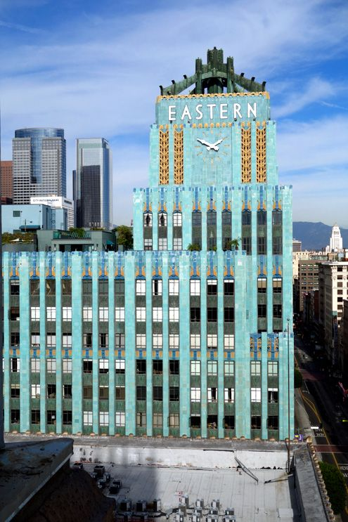 Spectacular view of the Eastern Columbia from Ace Hotel
