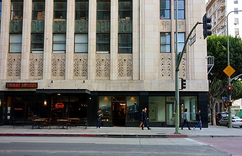 Tanner Goods is now open at rapidly evolving 9th and Broadway in Downtown LA