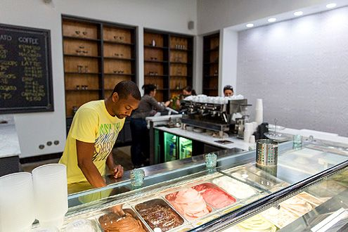 An inside look at Gelateria Uli (Photo: Hunter Kerhart)