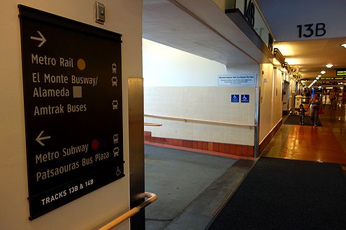 New wayfinding signage at eye level installed