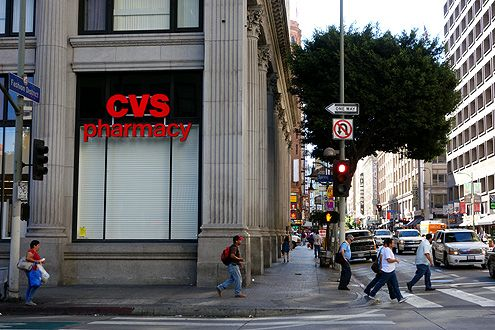 A new CVS Pharmacy drug store is opening at the corner of 7th/Spring in Downtown LA this coming August