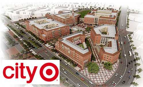 City Target is purportedly coming to the massive USC Village project near Downtown LA (Photo: USC Village)