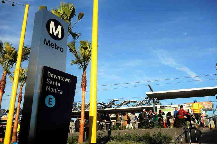 The 6.6 mile Expo Line Phase II extension began new train service between Downtown LA and Santa Monica on May 20, 2016