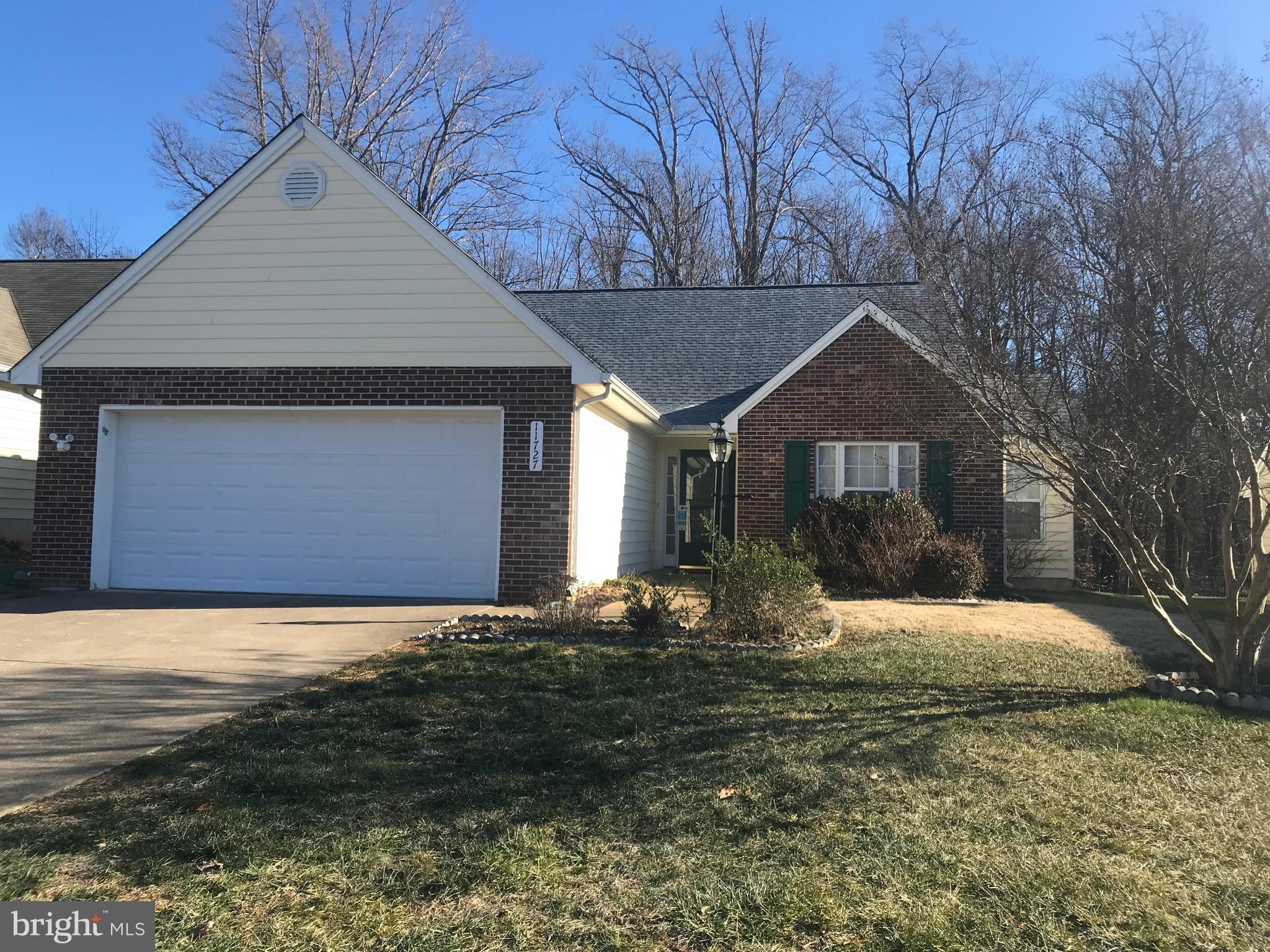 Garage For Rent Fredericksburg Va 11727 Collinwood Court Fredericksburg 22407 Virginia Capital Realty