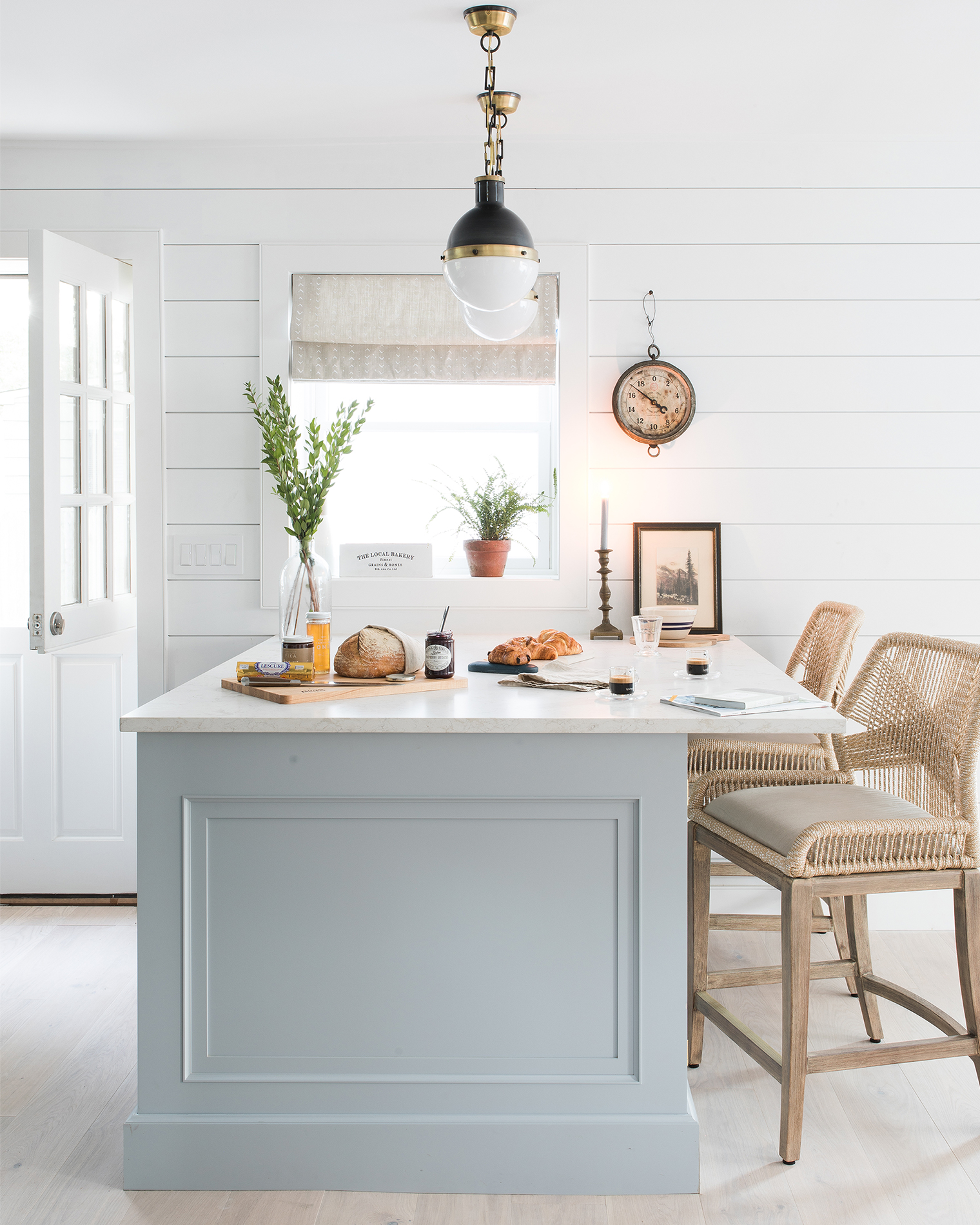 Beach Style Kitchen Cabinets Our Beach House Kitchen The Reveal Bright Bazaar By