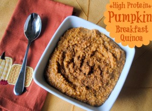 Pumpkin Breakfast Quinoa