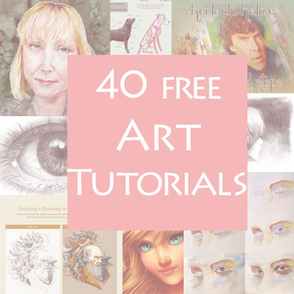 40 Free Art Tutorials