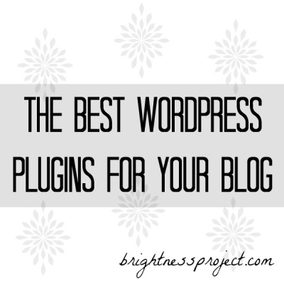 Best plugins for your blog