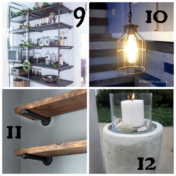40 Industrial Furniture DIY Tutorials | The Brightness Project