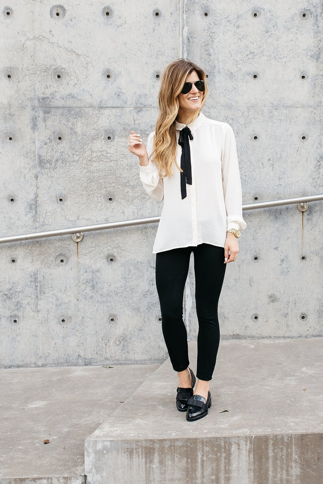 Outfit Business Casual Fall Business Casual Outfit Chic Black White Look For Work