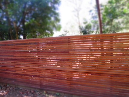 Timber Screen