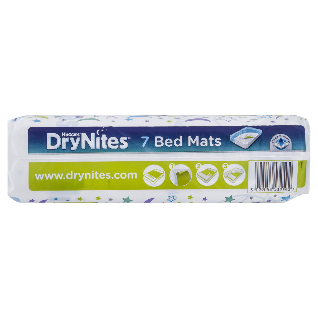 Huggies Drynites Bed Mats Huggies Drynites Bed Mats Pk7 Brightsky