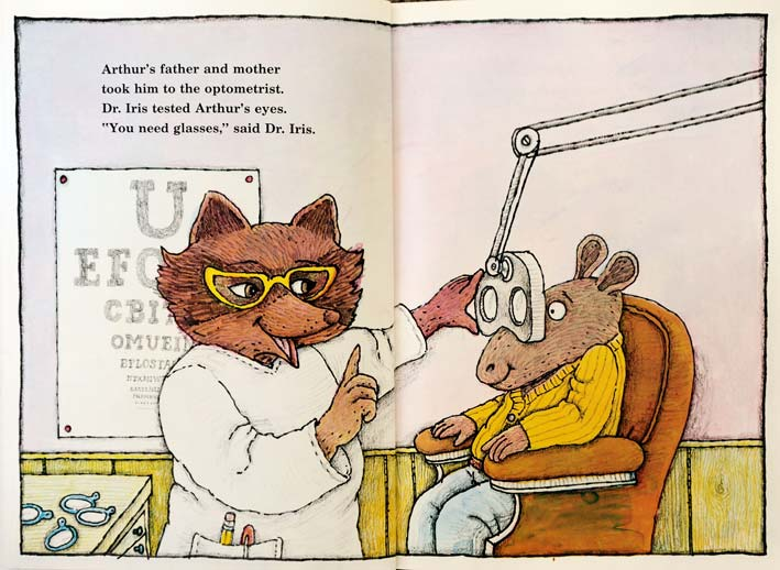 Arthur39s Eyes Book By American Children39s Book Author