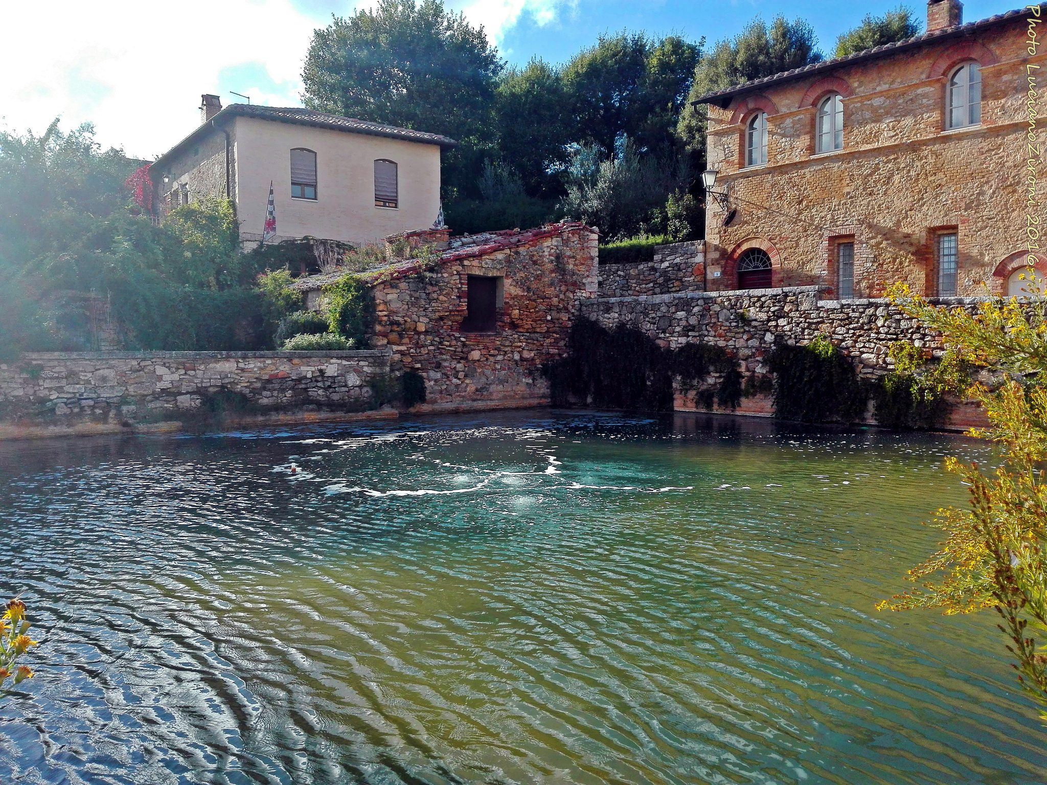Bagno Vignoni Free Thermal Baths Friendship Just Add Water Hot Spring Water That Is Brigolante