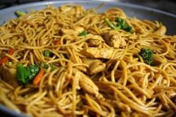 Unusual Bok Choy Spaghetti Squash Shrimp Lo Mein Ken Lo Mein Clean Eating Ken Lo Mein Bri Healthy Shrimp Lo Mein