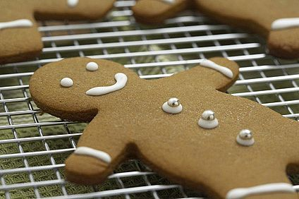 Gluten-Free Gingerbread Cookies (1/2)