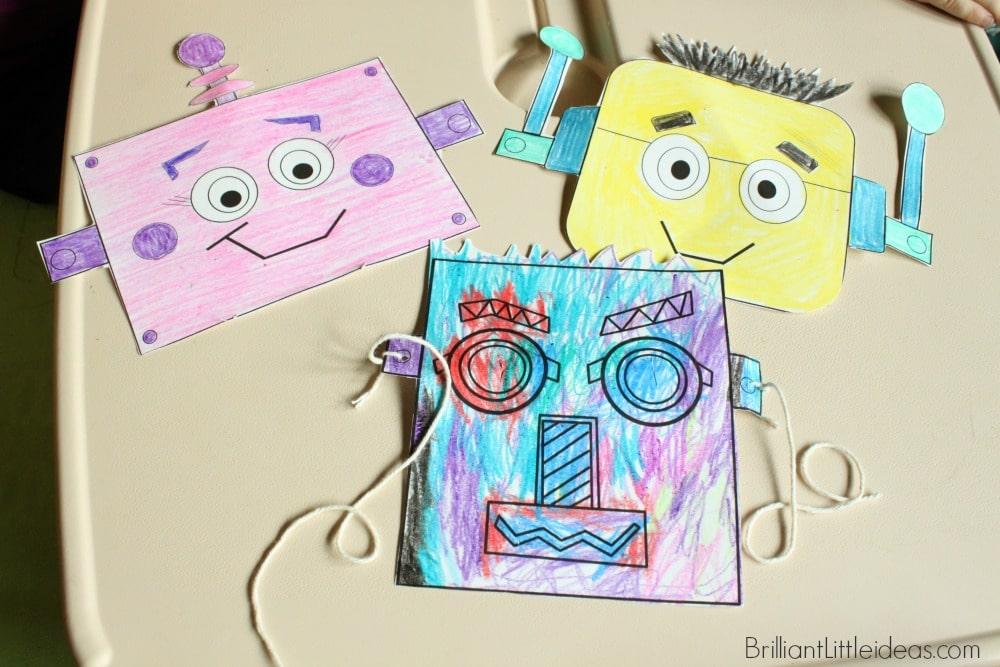4 Fun Robot Masks for Kids Brilliant Little Ideas