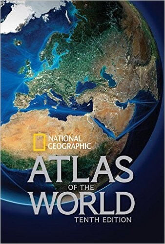 27 Best World Atlases For Map Lovers In 2017 \u2013 Brilliant Maps
