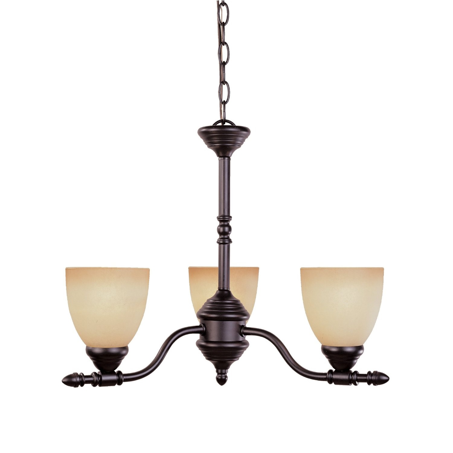 Designers Fountain Lighting Designers Fountain Apollo 3 Light Chandelier In Oil Rubbed