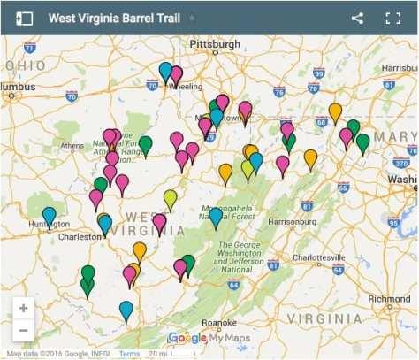 Barrel Trail Map link