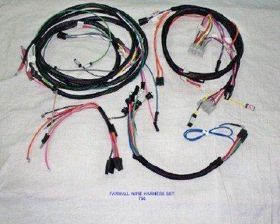 Farmall 756 Gas Tractor Wire Harness Set - The Brillman Company