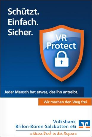 Volksbank Brilon - VR Protect Schützt Einfach Sicher