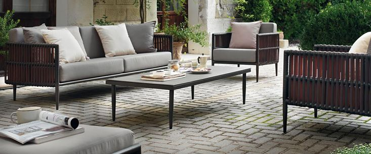 Table De Jardin Tressee Mobilier De Jardin – Salon De Jardin, Table, Chaise