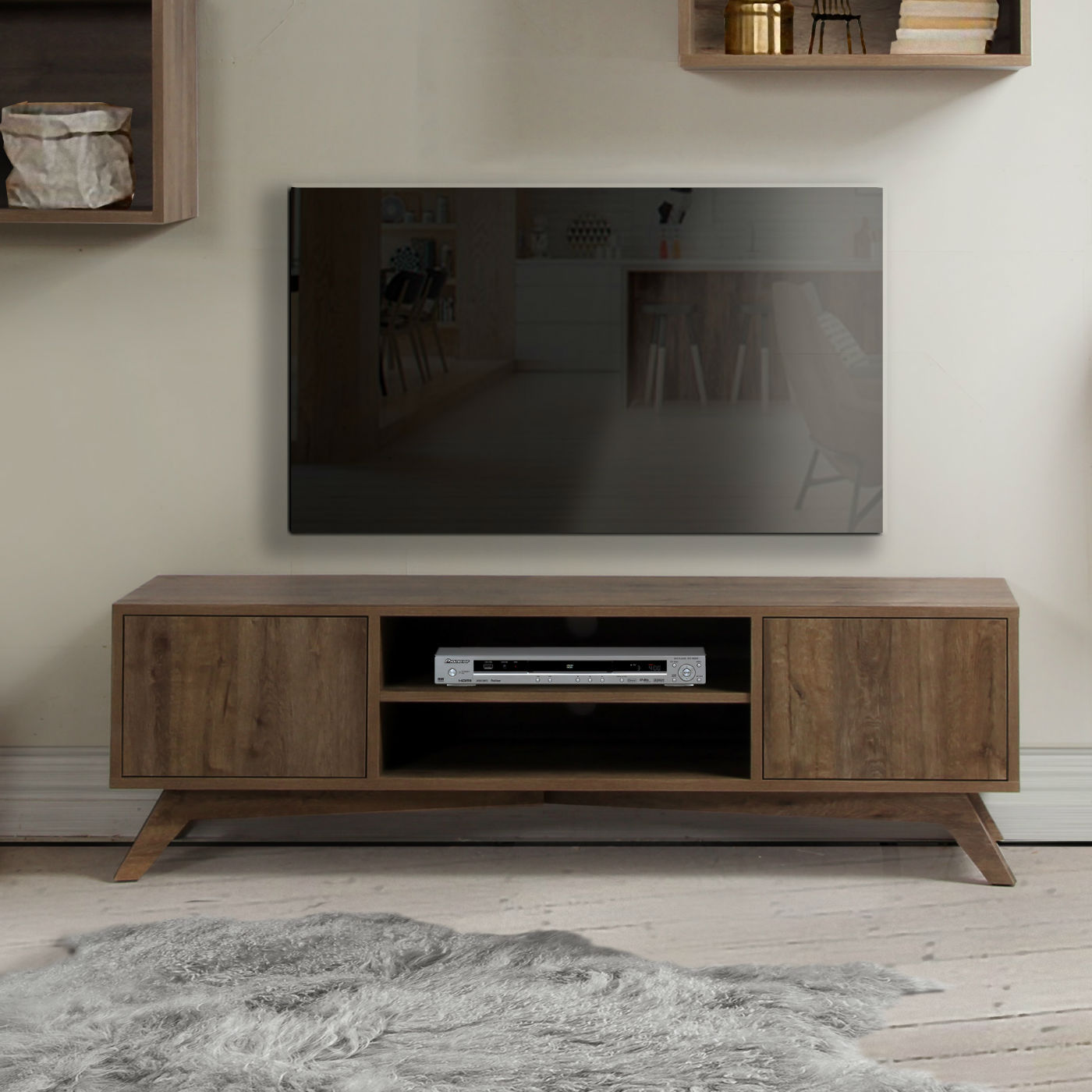 Meuble Tv Scandinave Design Meuble Tv Design Scandinave Brin D 39ouest