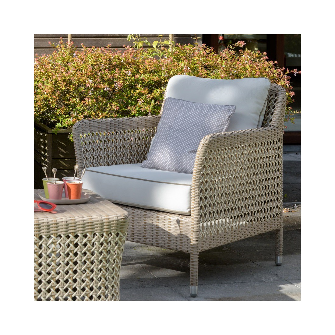 Riverside Salon De Jardin Fauteuil Jardin Carrefour Carrefour La Collection