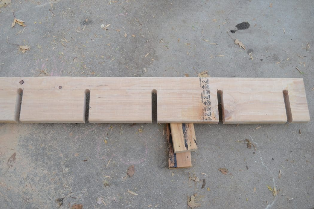 Make Your Own Garage Ski Rack For Cheap Bring The Kids