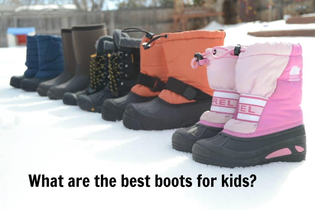 Which Kids Boots are the BEST? - Bring The Kids