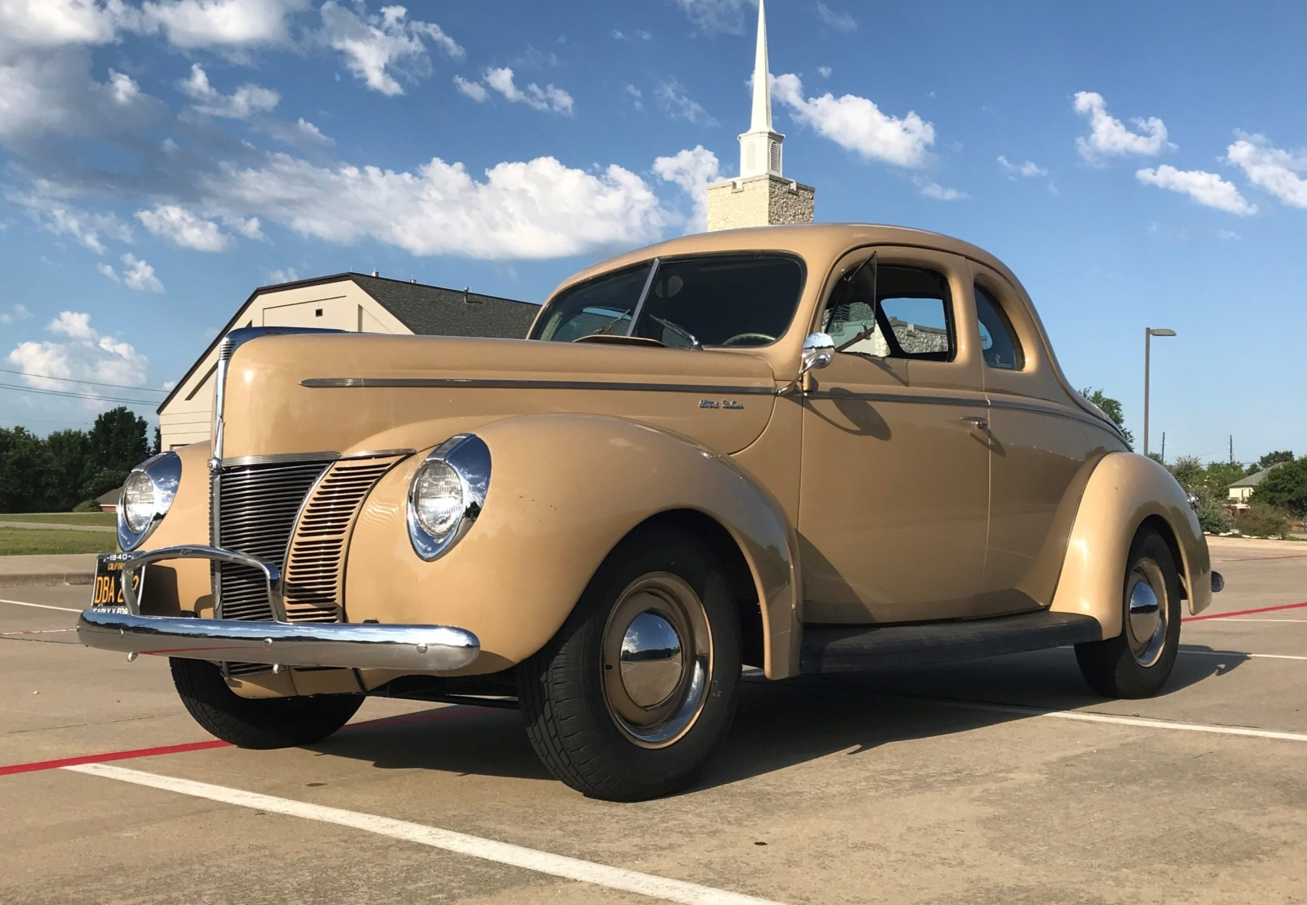 Coupe Ford 1940 Ford Deluxe Coupe For Sale On Bat Auctions Closed On