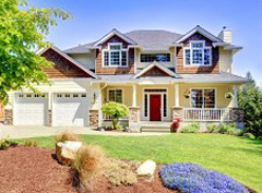 Paint your home's exterior to improve its curb appeal