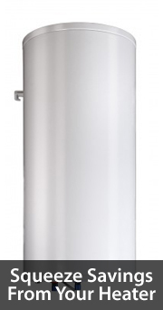Water heater savings