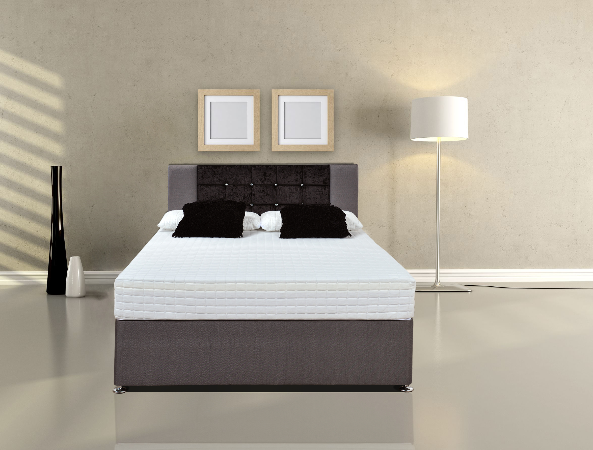 Single Pocket Sprung Memory Foam Mattress Memory Pocket
