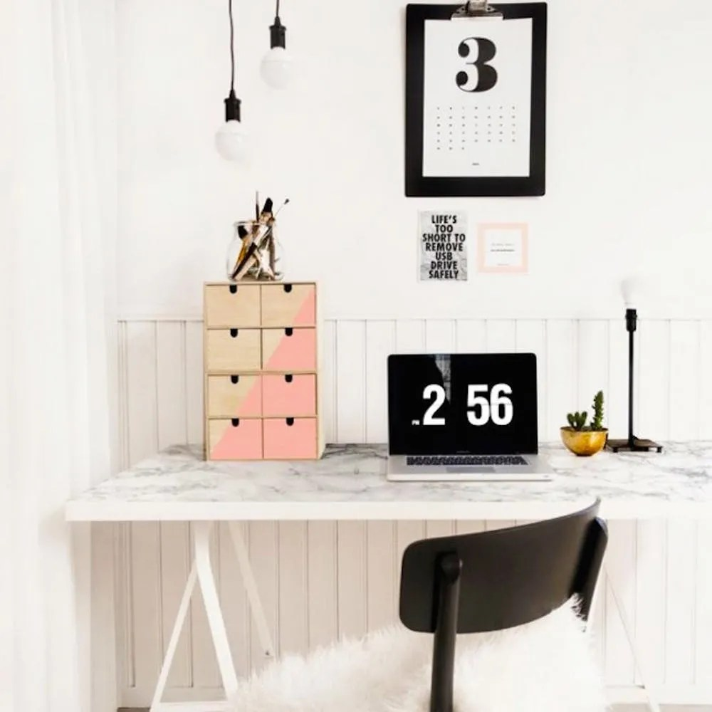 21 Ikea Desk Hacks For The Most Productive Workspace Ever Brit Co