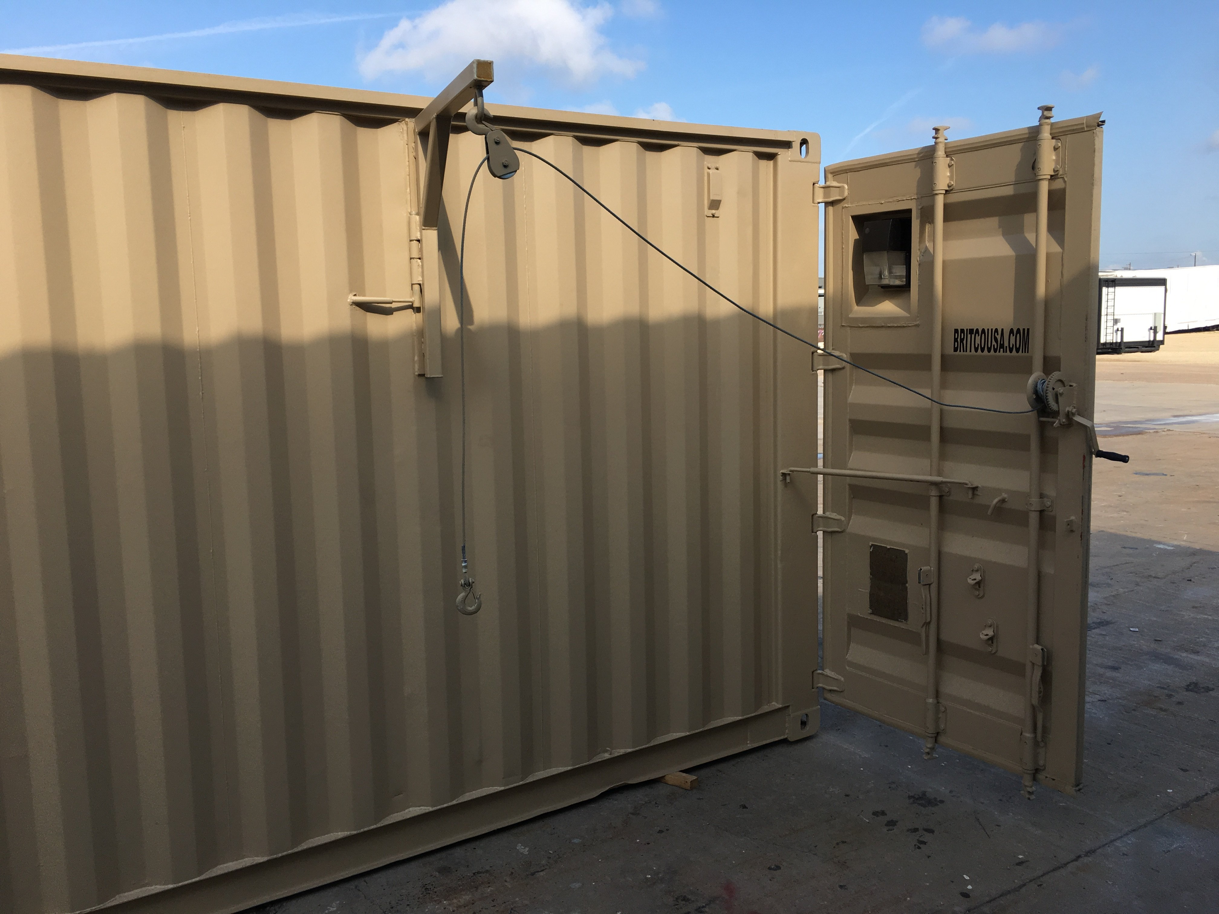 Shipping Container Hunting Cabin Plans Hunt Box Floor