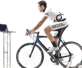 Bkool cyclists train with power