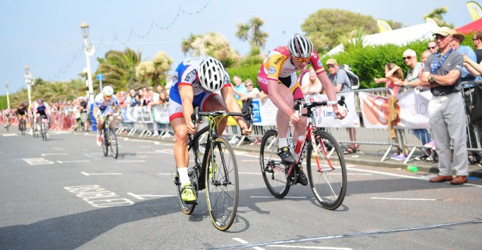 The criterium course will see a lot of action over the weekend, everything from unicycles, to Penny Farthings, from road  to cyclocross racing
