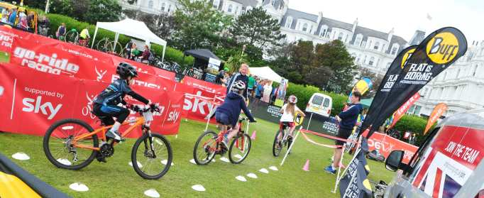 The Go-Ride team will be on hand , so you can tire out the kids