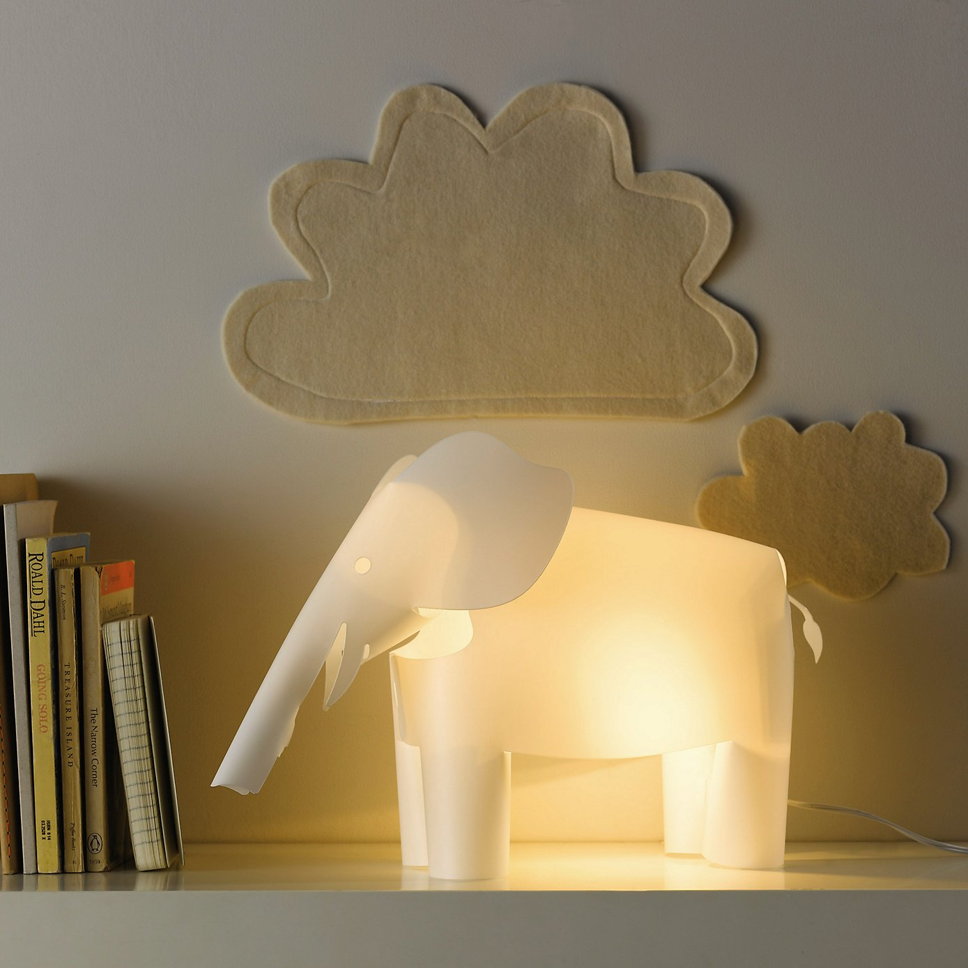Elephant Night Light Nursery Lighting And Night Light Ideas Britishstyleuk