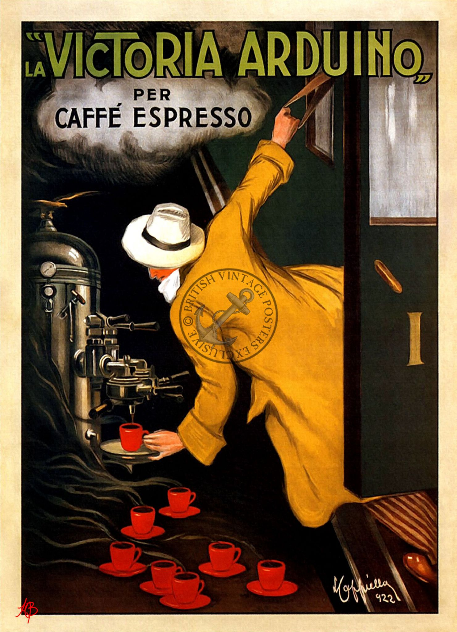 Kaffee Poster French Coffee Poster