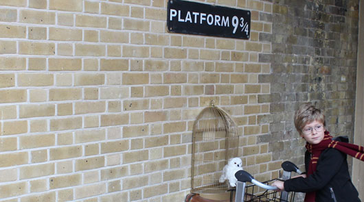 Harry Potter Platform 9 3/4 Location