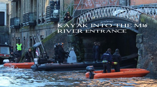 James Bond London River Location