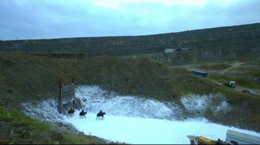 Magheramorne quarry