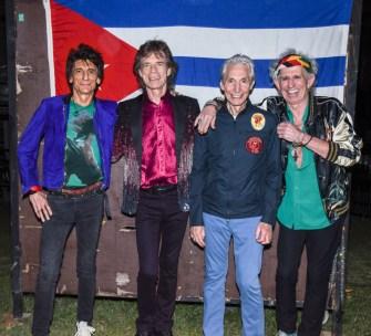 The Rolling Stones y su histórico concierto en Cuba